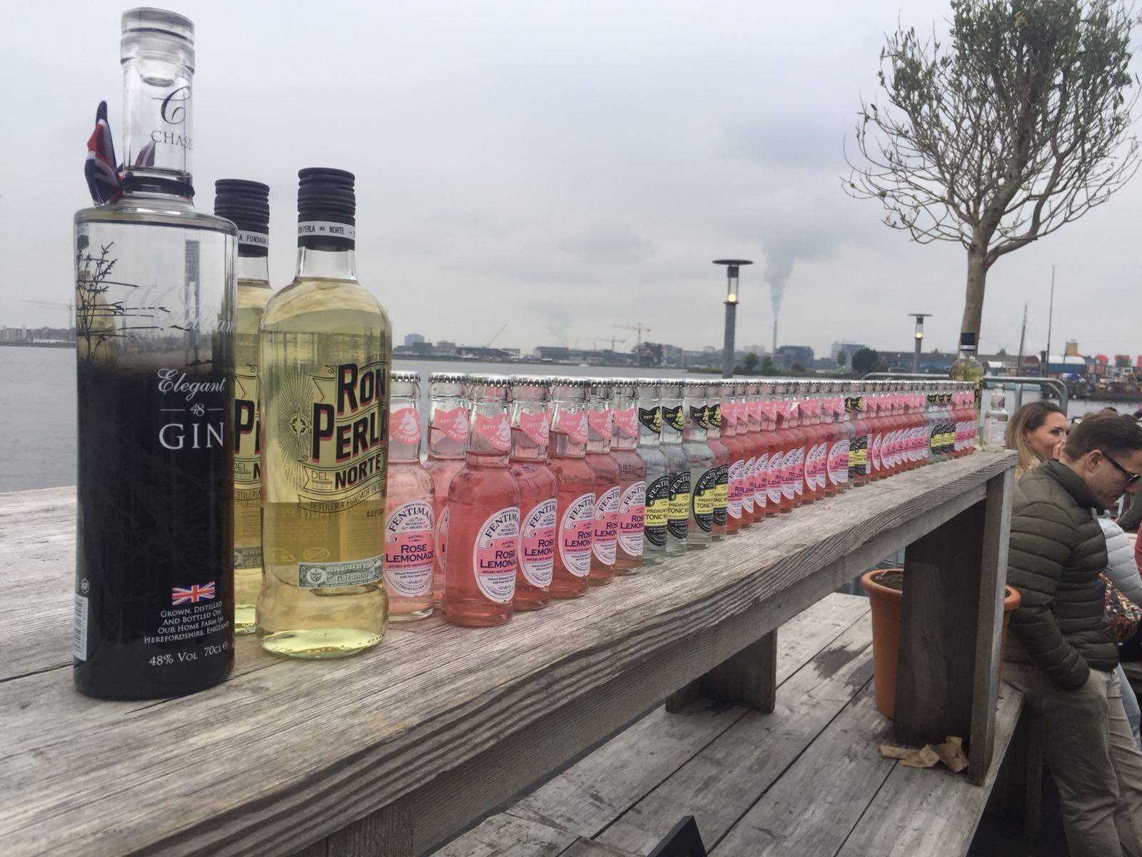 Alternatief voor Gin & Tonics tijdens Ginfestival
